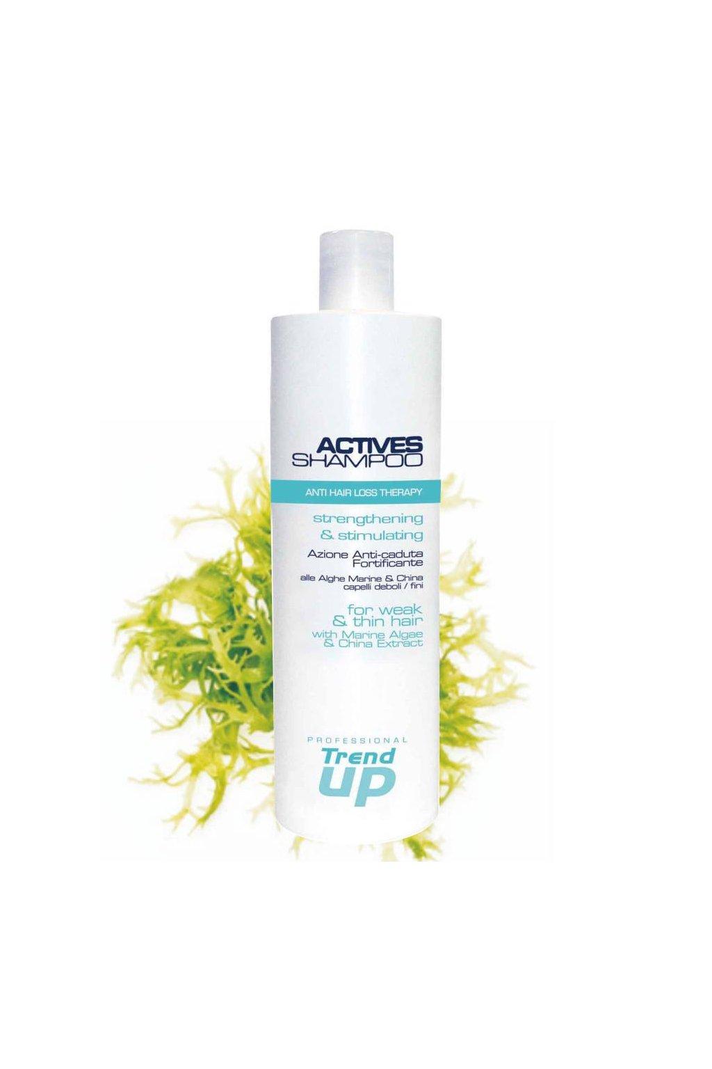 Trend up ACTIVES Šampon proti padání vlasů s mořskými řasami 1000ml