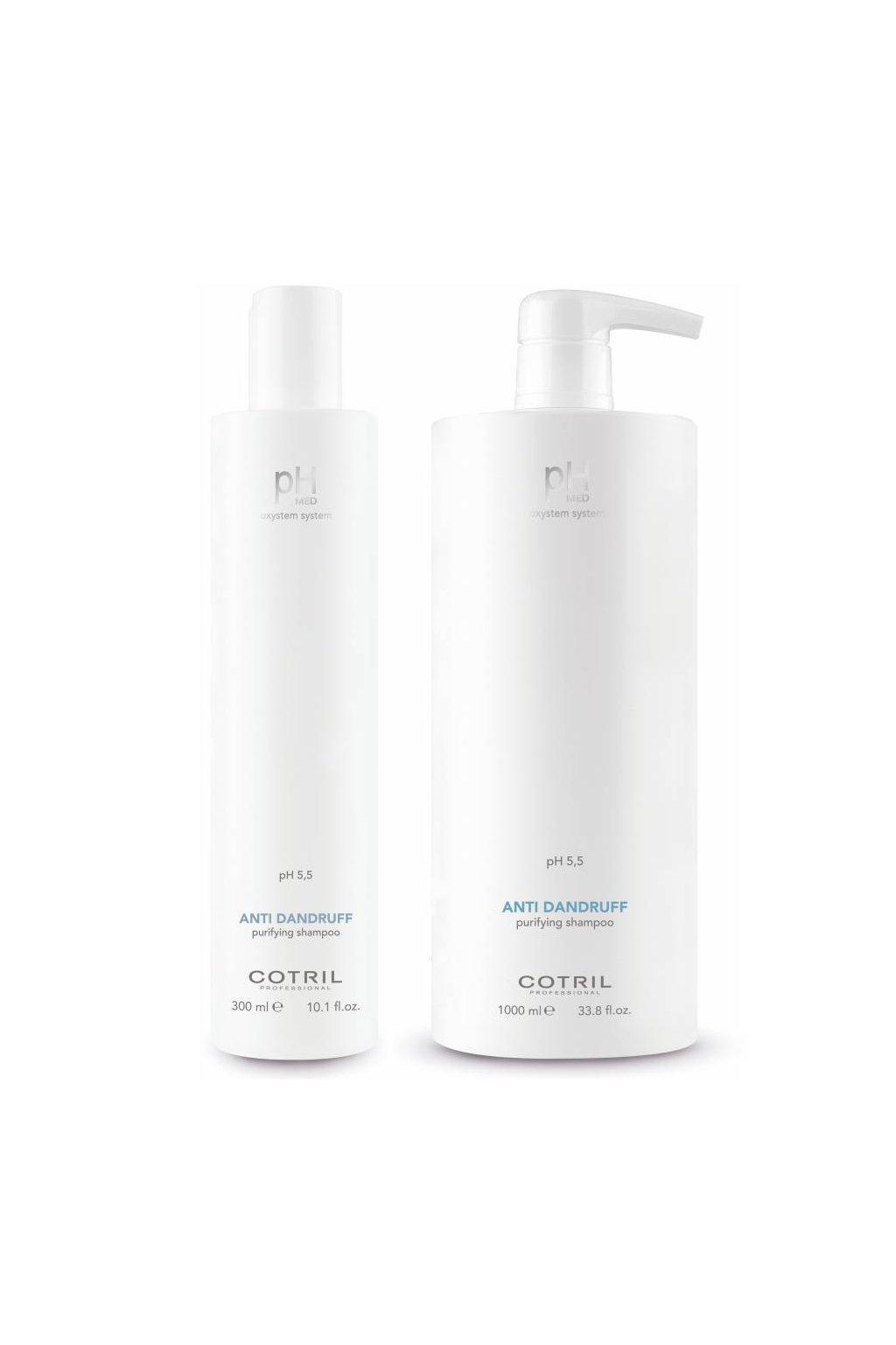 Cotril pH-MED Šampon proti lupům s piroctone olamine