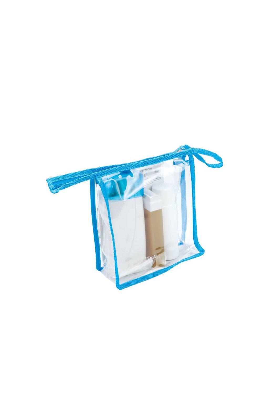 Epilační SET v taštičce na zip, ohřívač, vosk 100ml, olej po epilaci 125ml, papírky 10ks