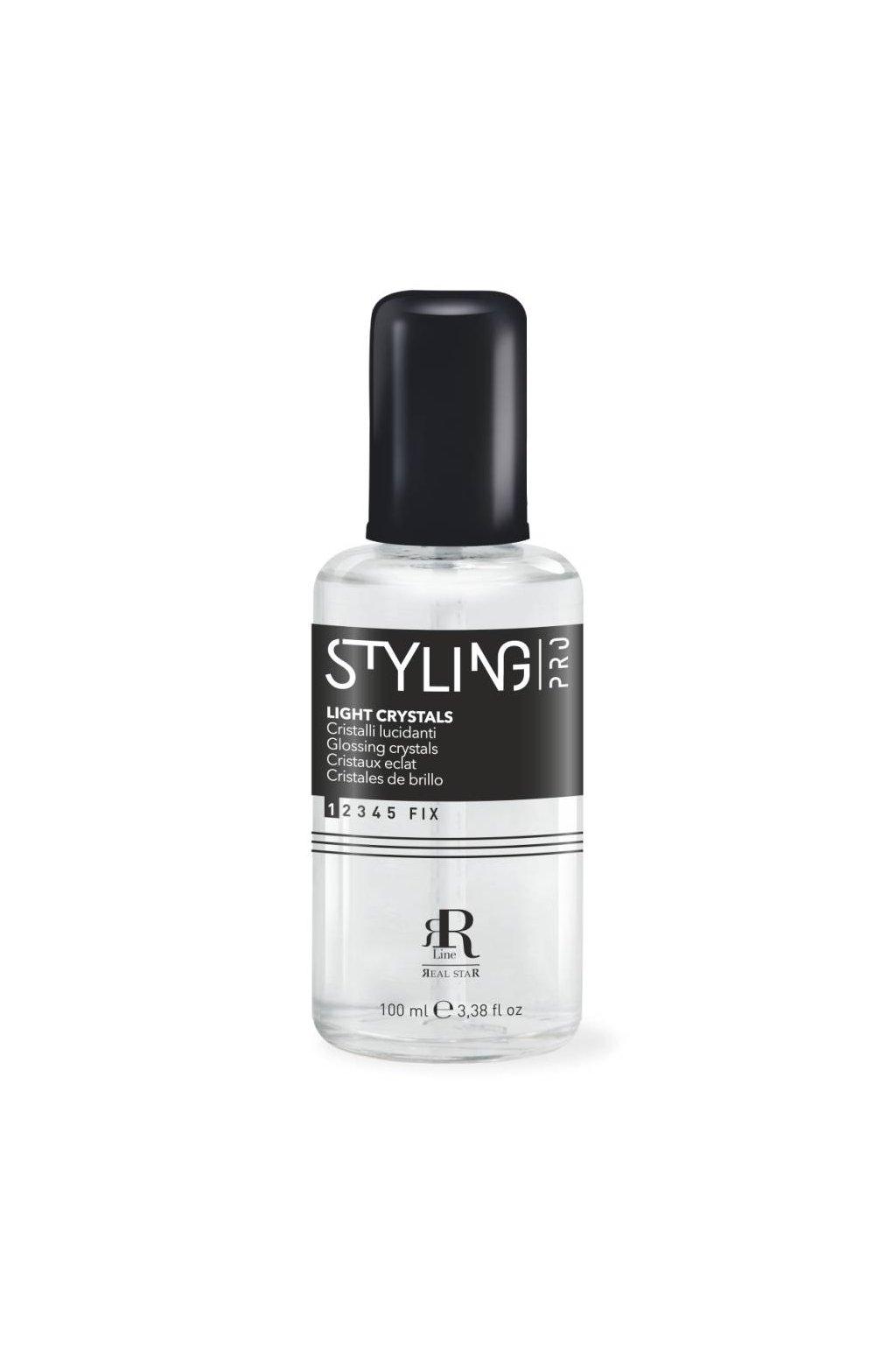 RR Line LIGHT CRYSTALS sérum třpytivé krystaly pro lesk a hebkost vlasů 100ml