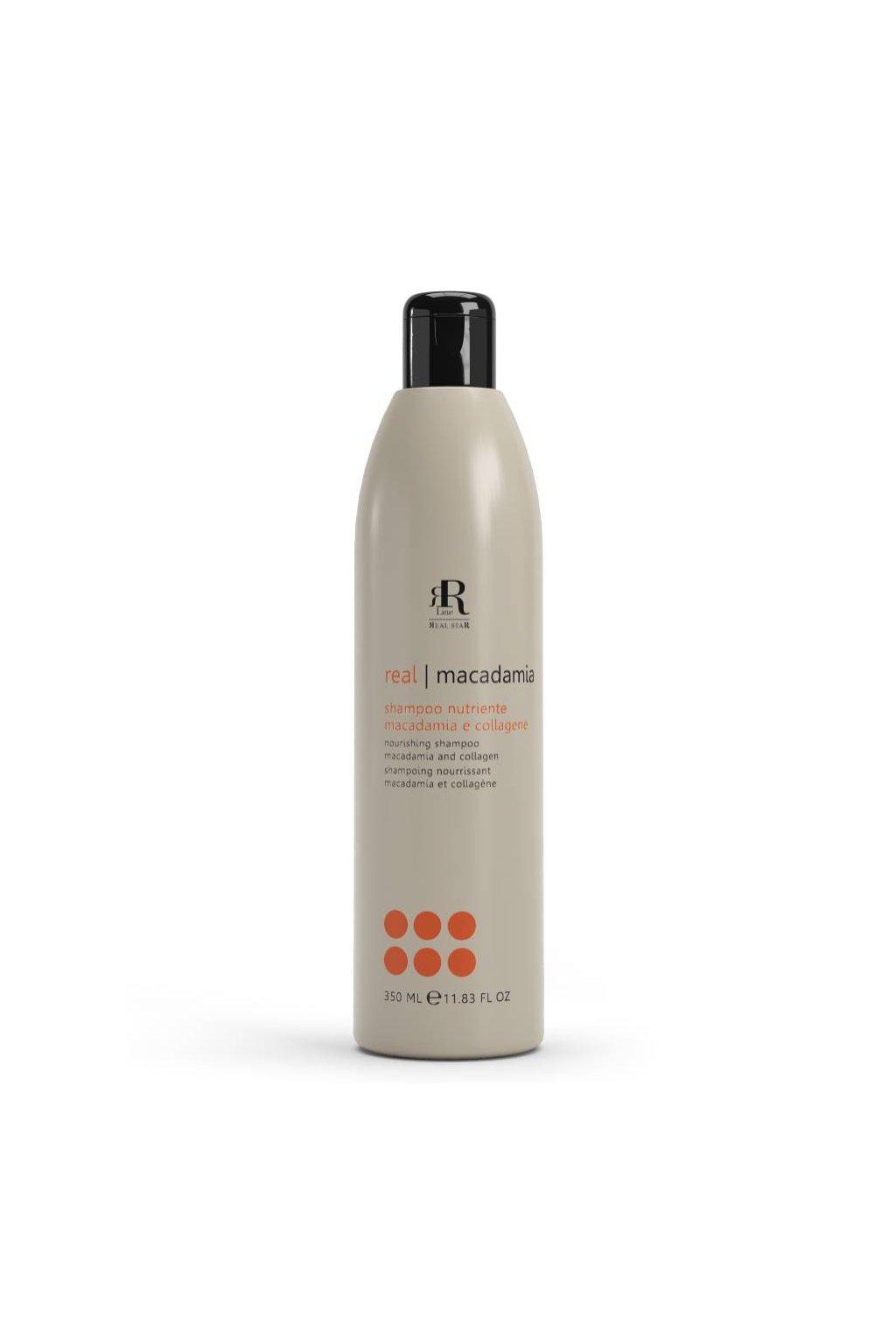 RR Line MACADAMIA STAR šampon vyživující namáhané a matné vlasy