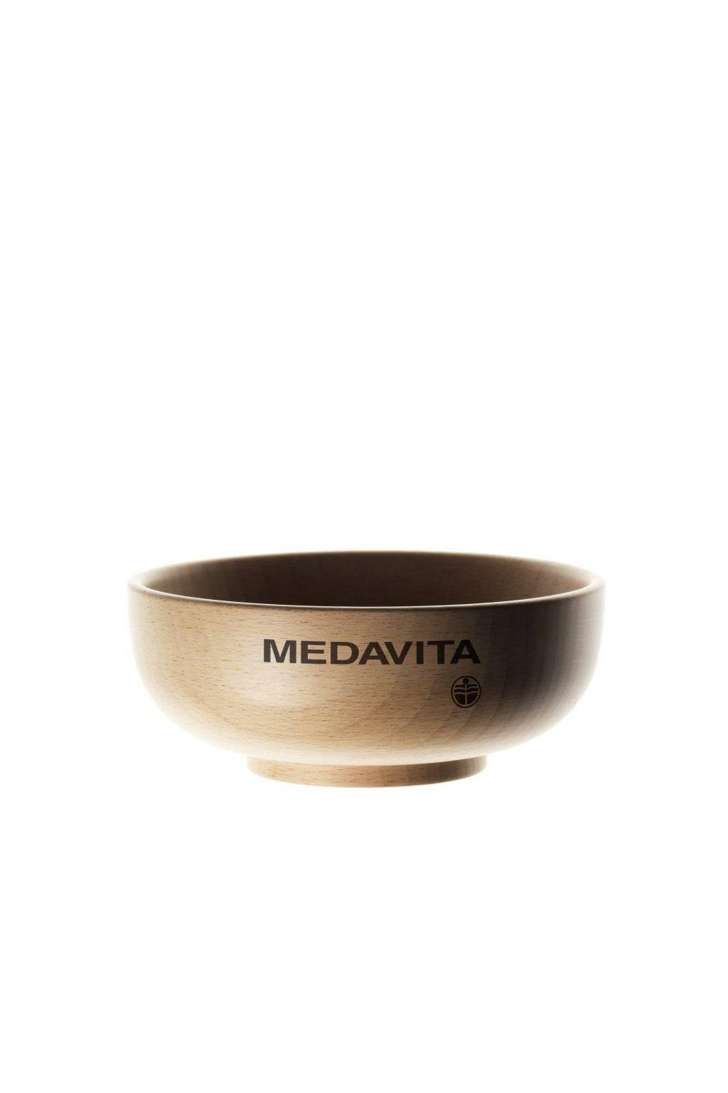Miska pro pečující přípravky, bukové dřevo, Medavita