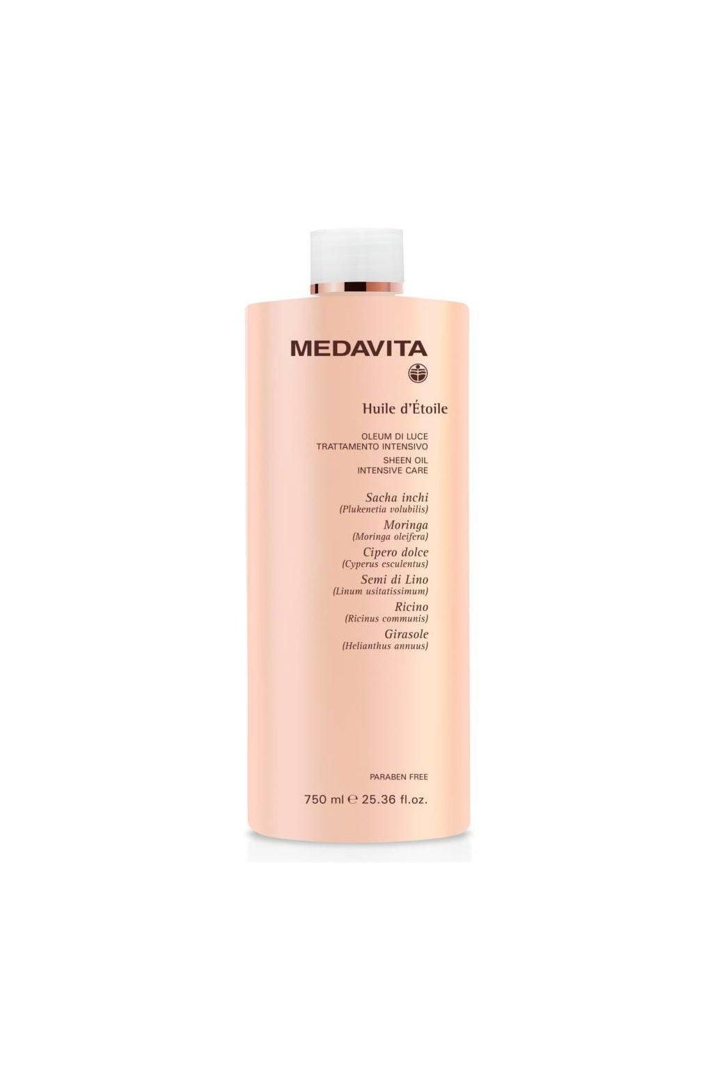 Medavita HUILE d'Etoile Zábal OLEUM koncentrát olejů pro intenzivní péči před mytím vlasů 750ml