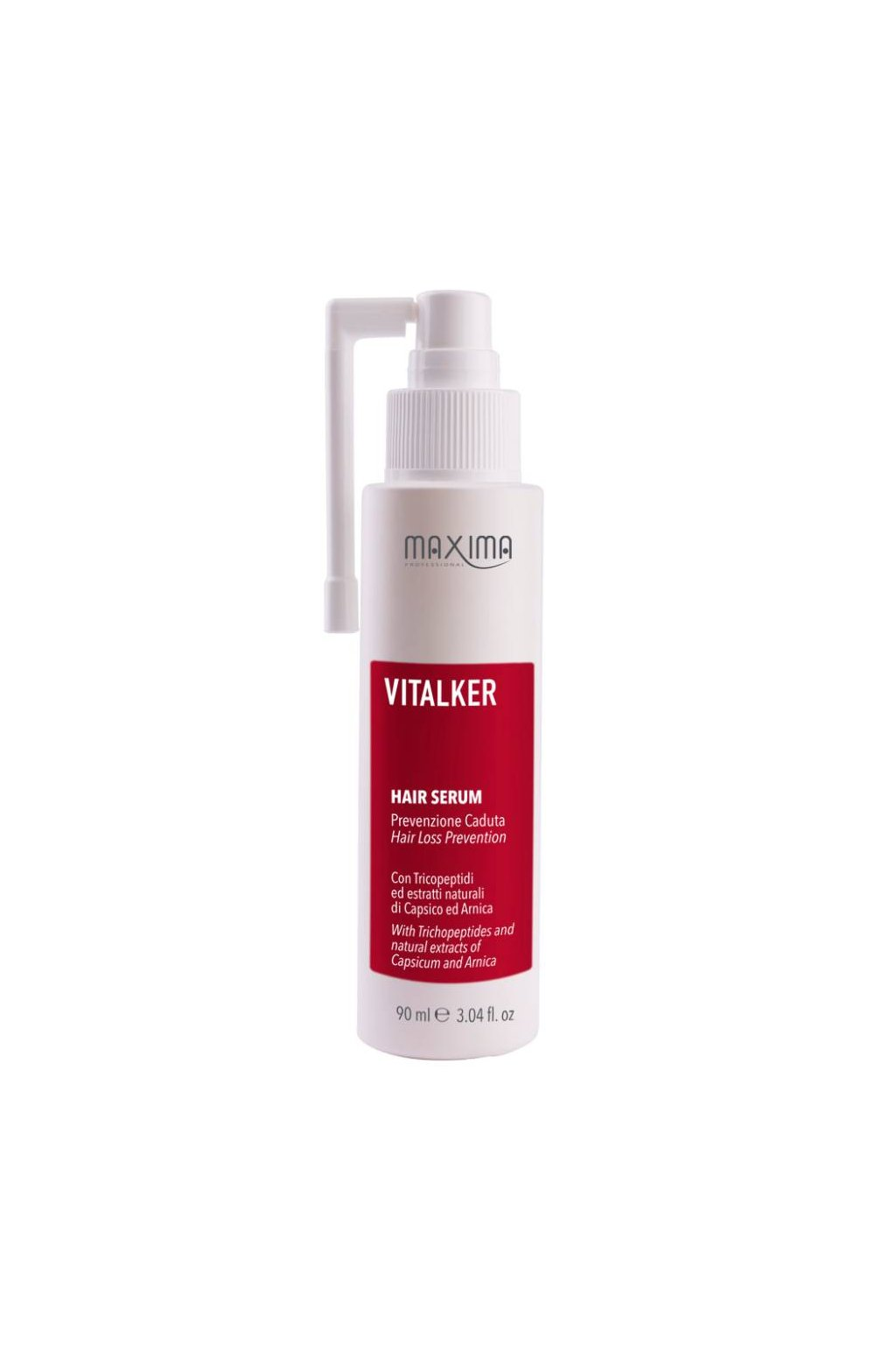 Maxima VITALKER Tonikum padání vlasů, výtažky z papriky a prhy 90ml