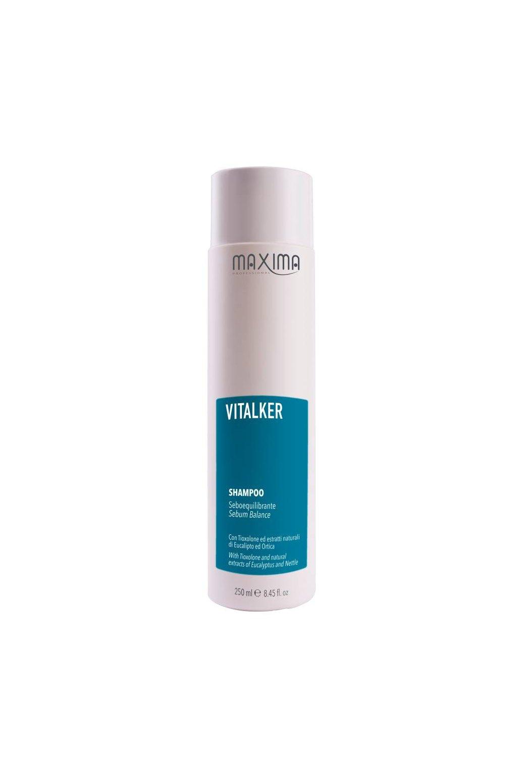Maxima VITALKER Šampon pro mastnou pokožku s eukalyptem 250ml