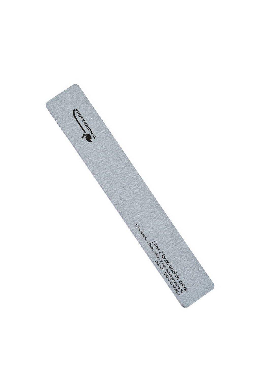 Pilník na nehty obdélník ZEBRA hrubost 180/180, omyvatelný