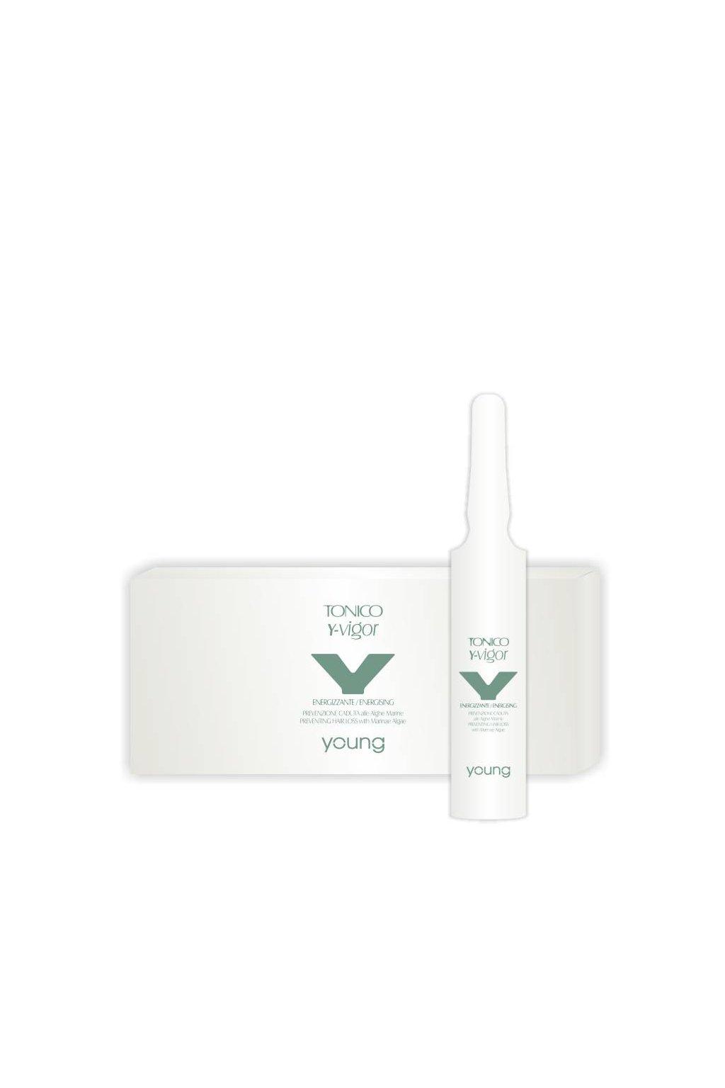 Young Y-VIGOR Ampule proti padání vlasů s mořskými řasami 12x10ml