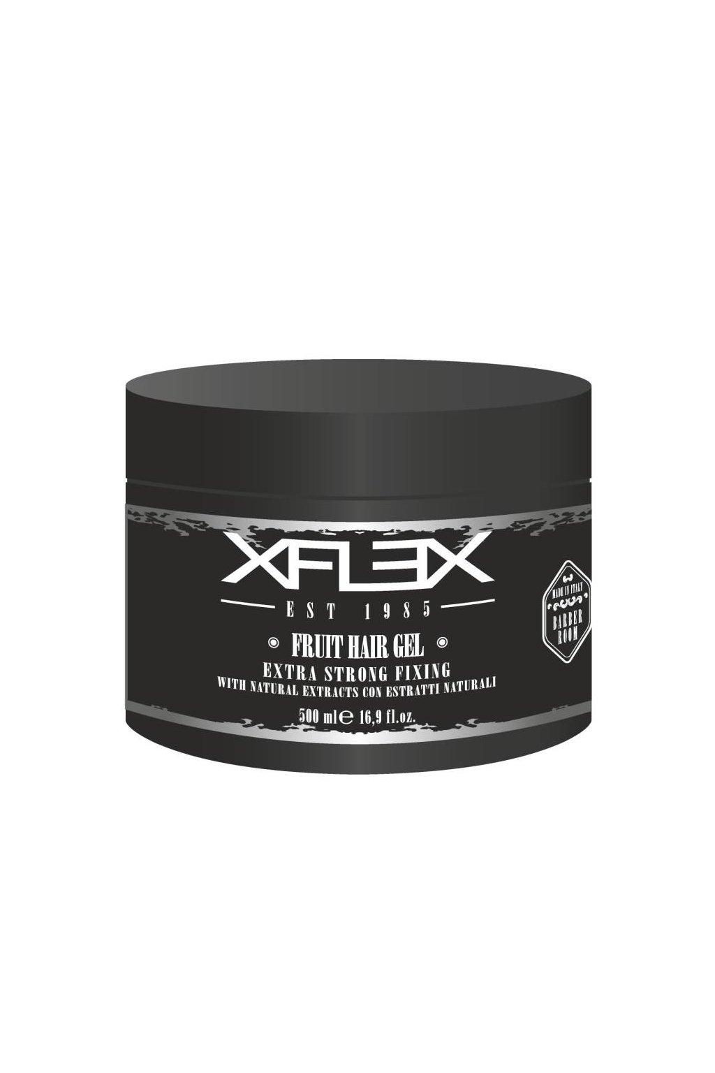 Xflex FRUIT Gel extra silný, modelovací s vitamínem C a E, svěží vůně 500ml