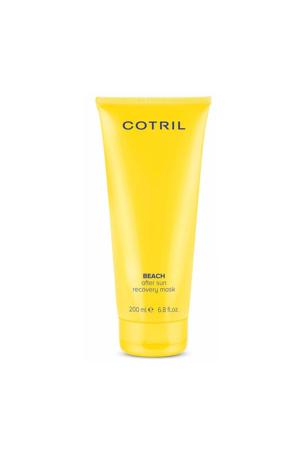 Cotril BEACH Maska obnovující, hydratační a vyživující, působení 1 minuta 200ml