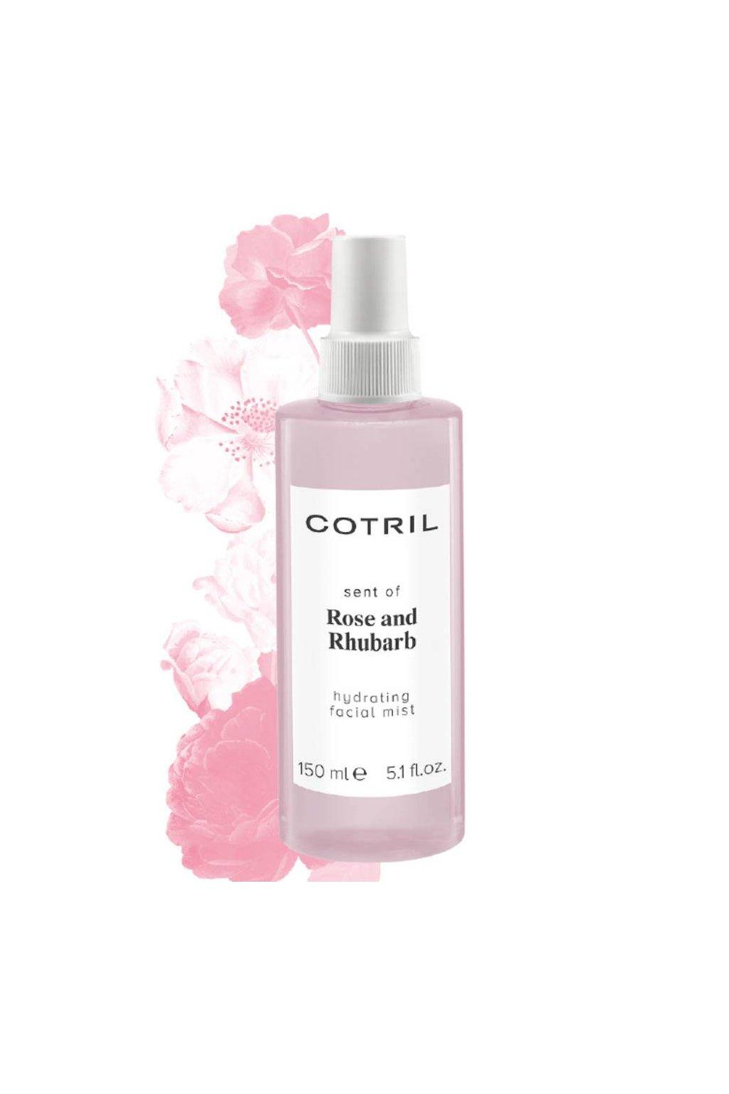 Cotril ROSE Sprej na obličej, hydratační a antioxidační 150ml