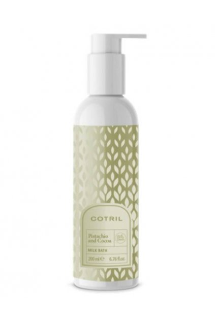 Cotril Milk Bath Sprchovací mléko PISTÁCIE A KAKAO 200ml
