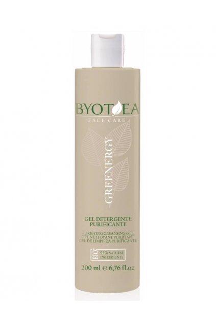 Byotea Greenergy Čistící gel čistí póry, make-up a omezuje tvorbu černých teček 200ml