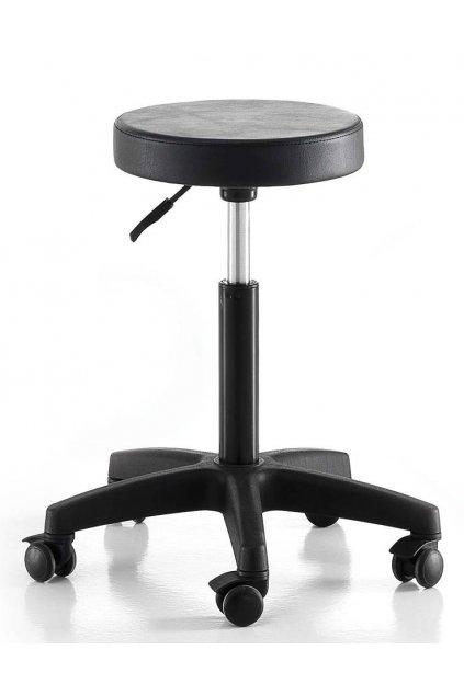Taburet MASTER STOOL bez opěrky, plast hvězdice (Barva Černá)