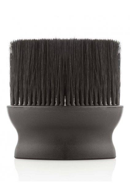 Oprašovák Barber Confort černý ergonomický tvar, černé žíně