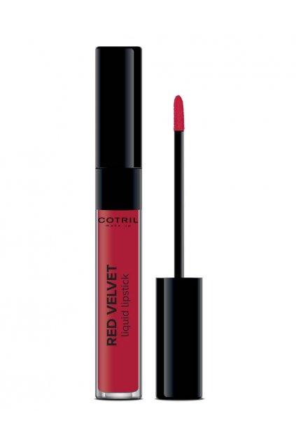 Cotril Liquid Lipstick RED VELVET Rtěnka pro intenzivní dlouhodržící barevný odstín