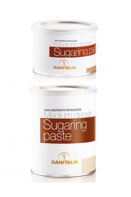 Xanitalia Epilační cukrová pasta bez zahřívání MEDIUM středně hustá, aplikace rukou