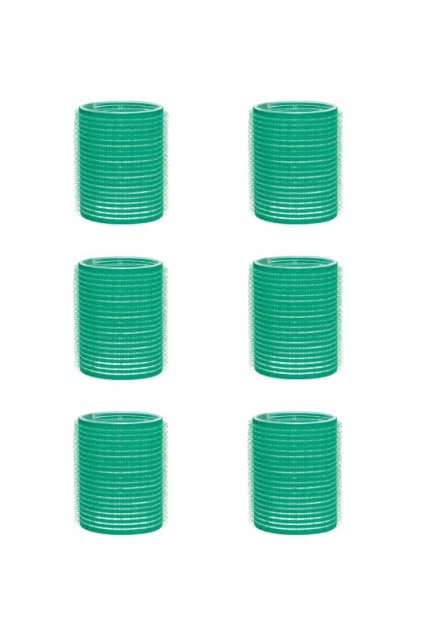 Natáčky suchý zip průměr 48mm zelené Xanitalia