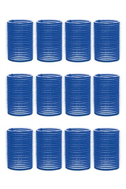 Natáčky suchý zip průměr 40mm modré tmavé Xanitalia 12ks