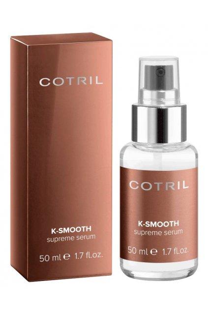 Cotril K-SMOOTH Supreme sérum okamžitě upravuje, uhlazuje a narovnává 50ml