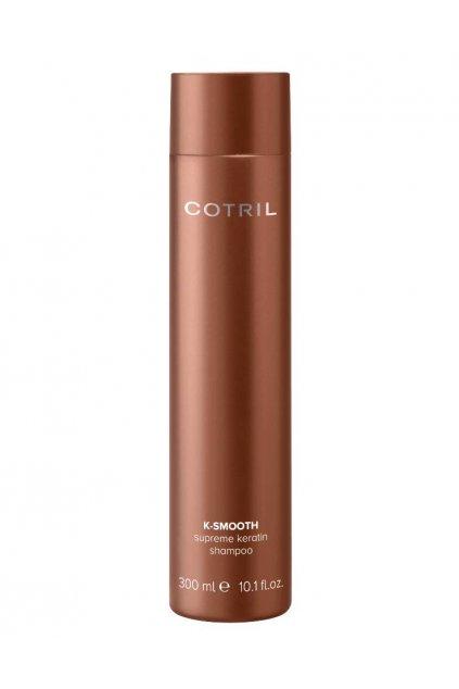 Cotril K-SMOOTH Supreme Šampon s keratinem pro hladké a upravené vlasy 300ml