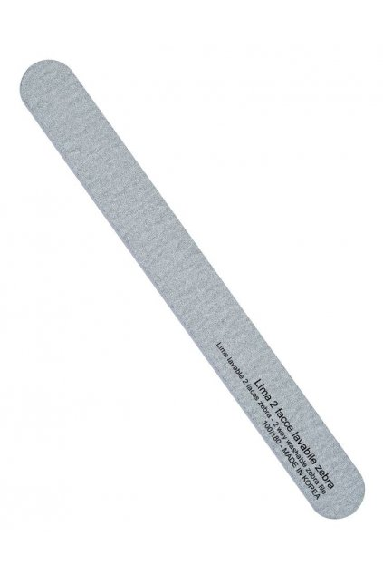 Pilník na nehty rovný ZEBRA hrubost 100/180, omyvatelný