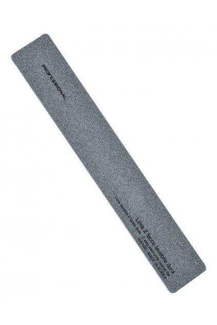 Pilník na nehty obdélník ČERNÝ hrubost 100/100, omyvatelný