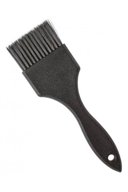 Štětec na barvení vlasů černý široký nátěrový, ultra jemný 5,2cm