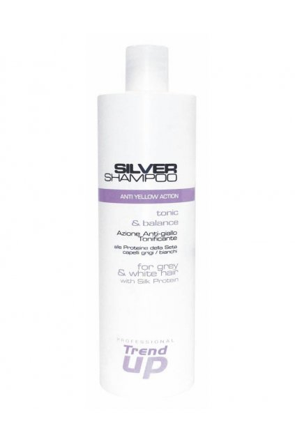 Trend up SILVER Šampon pro blond, šedivé vlasy, pro neutralizaci žlutých tónů
