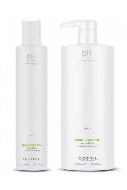 Cotril pH-MED Šampon pro mastnou pokožku a suché konečky vlasů