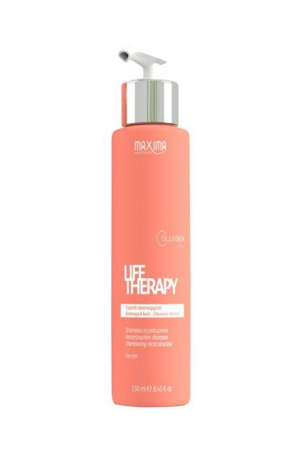 Maxima LIFE Šampon obnovující s komplexem aminokyselin pro velmi poškozené vlasy