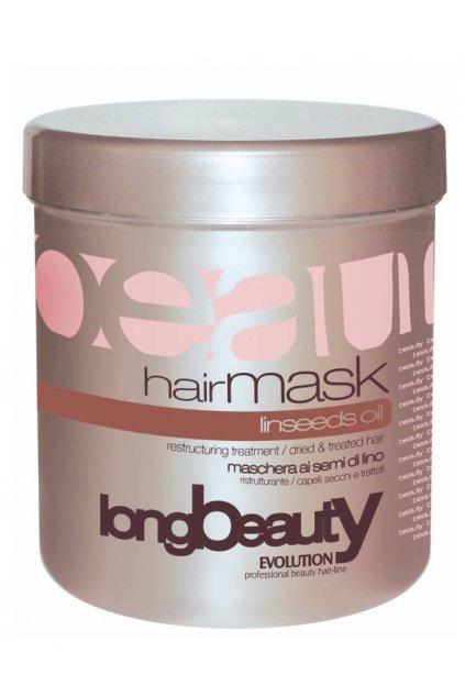 Evolution Maska SEMI lněná semínka, regenerační pro poškozené vlasy 1000ml