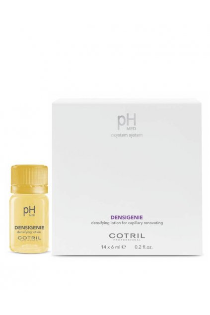 Cotril pH-MED Densigenie Ampule pro řídké vlasy, obnovuje hustotu