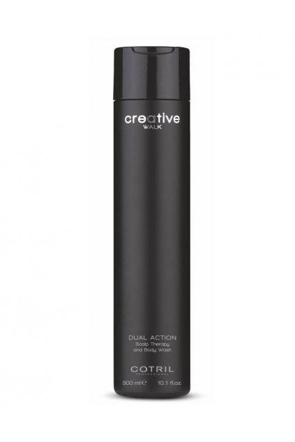 Cotril DUAL ACTION Šampon obnovující, vlasy a tělo 300ml