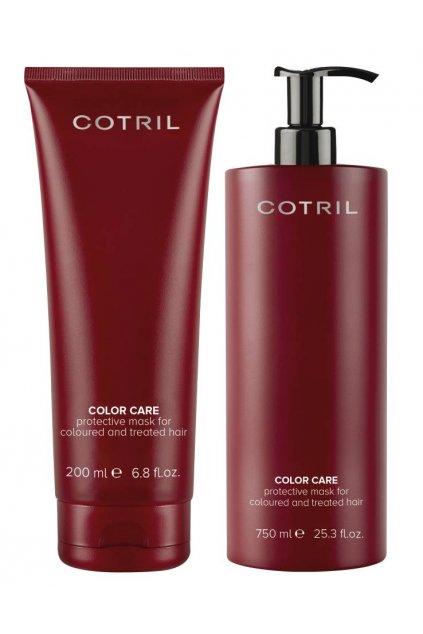 Cotril COLOR CARE Maska pro vlasy barvené a chemicky upravované