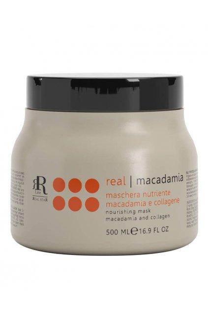 RR Line MACADAMIA STAR Maska vyživující namáhané a matné vlasy