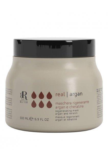 RR Line ARGAN STAR Maska regenerační pro kudrnaté a chemicky ošetřované vlasy