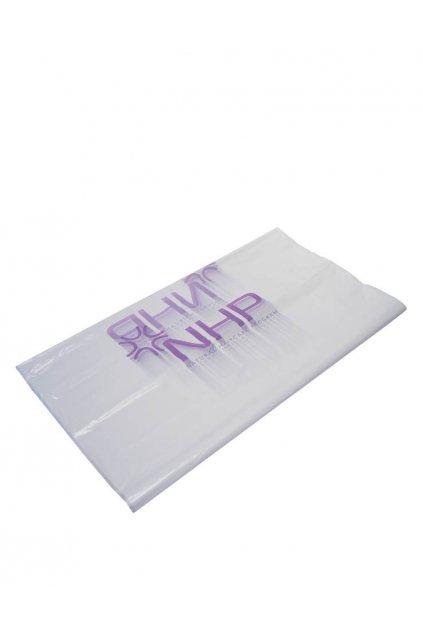 Pláštěnky na barvení jednorázové igelitové 30ks/1balení, logo NHP