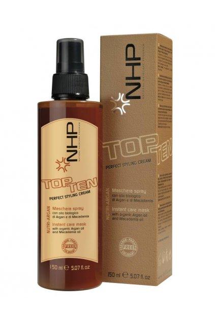 NHP TOP TEN 10v1 Maska ve spreji vyživující s okamžitým účinkem pro krásu všech typů vlasů 150ml