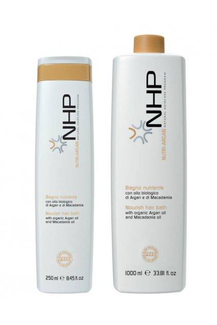NHP NUTRIENTE Šampon hloubkově vyživující s arganem