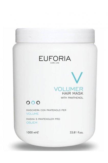 Euforia VOLUMER Maska pro objem, hydratační s pantenolem 1000ml