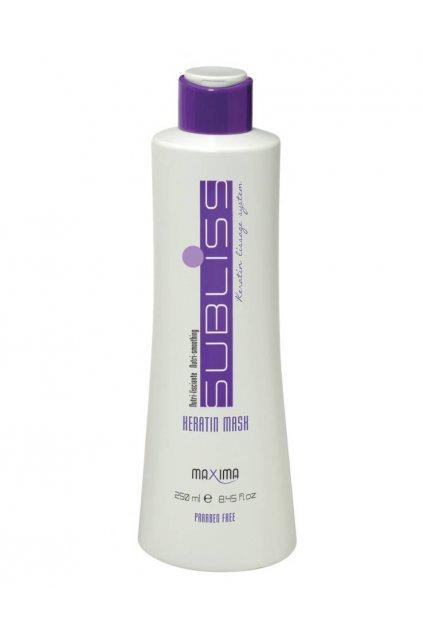 Maxima SUBLISS Maska pro perfektně hladké vlasy s keratinem, intenzivní výživa 250ml