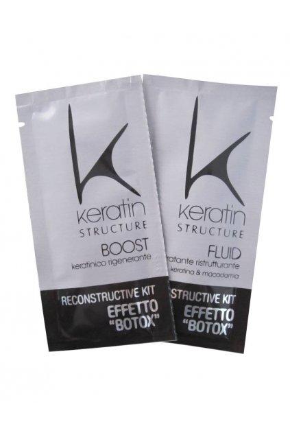 Keratin Structure SET pro rekonstrukci vlasů s botoxovým efektem 2x12ml