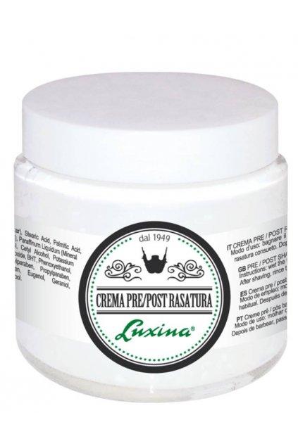 Luxina CREMA RASATURA krém před/po holení, ochrana při holení 100ml