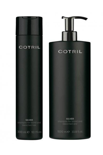 Cotril SILVER šampon pro neutralizaci žlutých tónů, oživení barvy