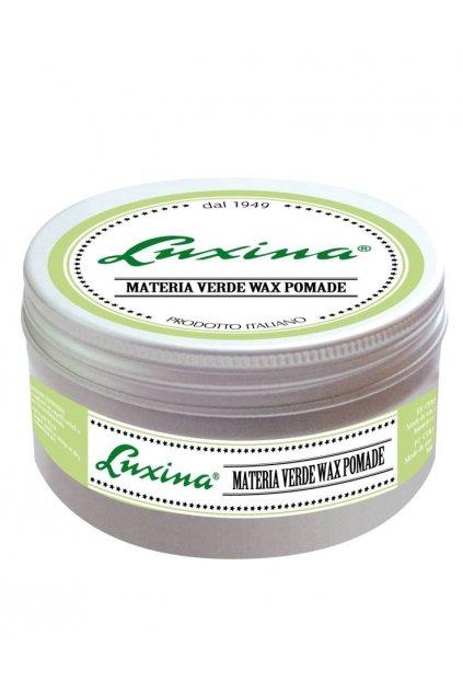 Luxina MATERIA WERDE WAX POMADE vosk extrémně definující RAZOR FADE s Aloe Vera 100ml