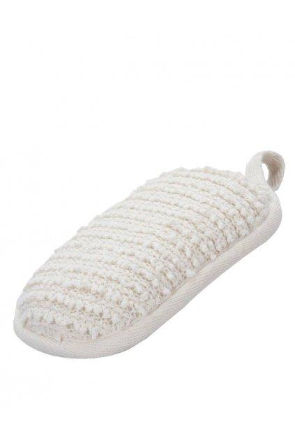 Spa beauty Masážní mycí houba abrazivní, menší ovál 13x8x3cm