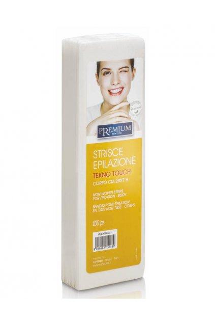 Kosmetické epilační pásky PREMIUM Tekno Touch 7x20cm 1bal./100ks