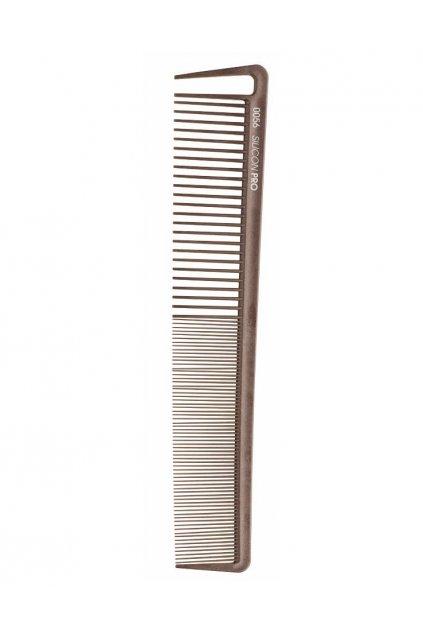 Hřeben Silicon PRO 0056 extrémně odolný, velmi řídký/hustý, vybírací zub 21,2cm