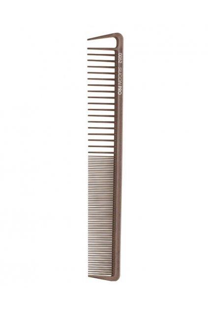 Hřeben Silicon PRO 0052 extrémně odolný, velmi řídký/hustý, vybírací zub 20cm