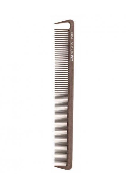 Hřeben Silicon PRO 0051 extrémně odolný, řídký/hustý, vybírací zub 17,8cm
